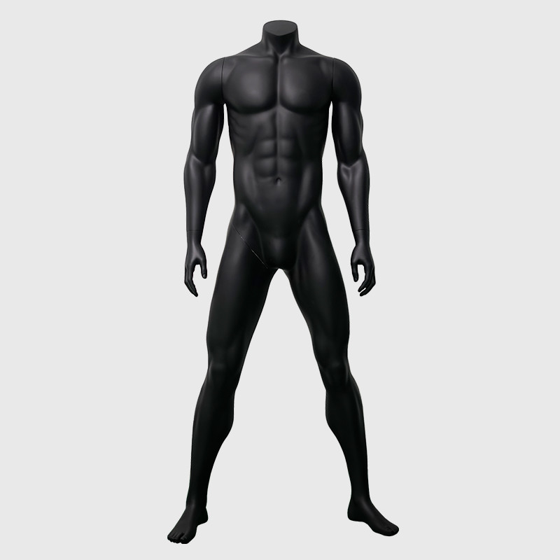 Black big muscle strong male mannequin