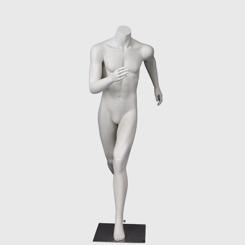 Fashion new mannequin sport white shop male manikin for window display