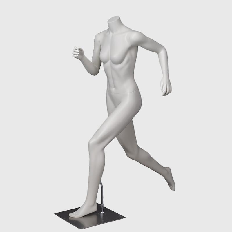 Headless female mannequin fashion sports mannequin
