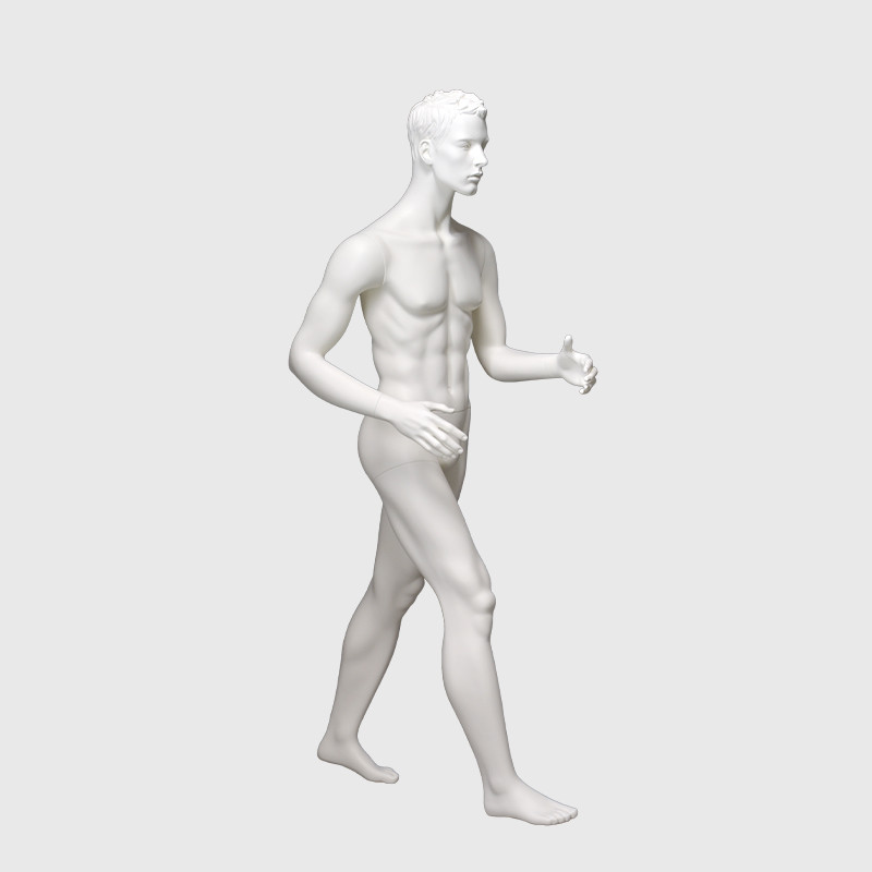 Walking action male mannequin moving mannequins for sale