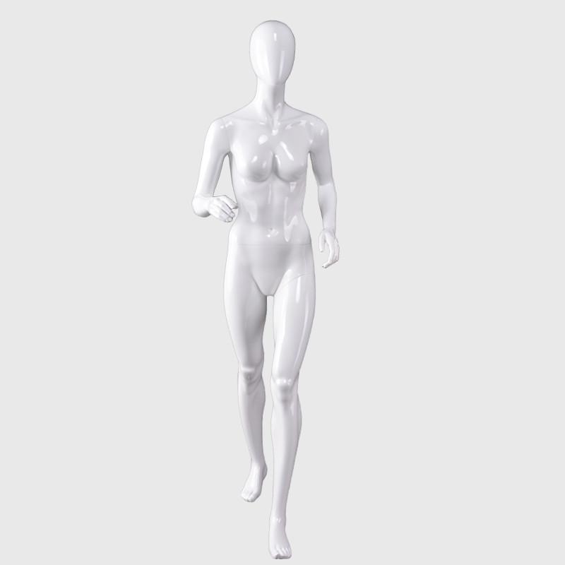 Runner mannequin sports female action mannequin