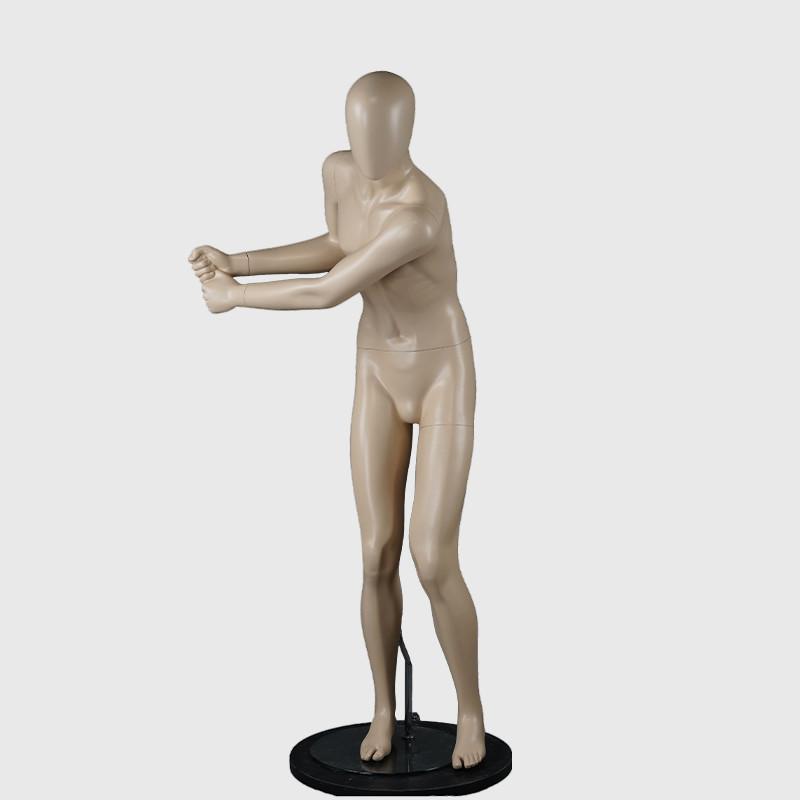 Golf male mannequin fibergalss full body mannequin