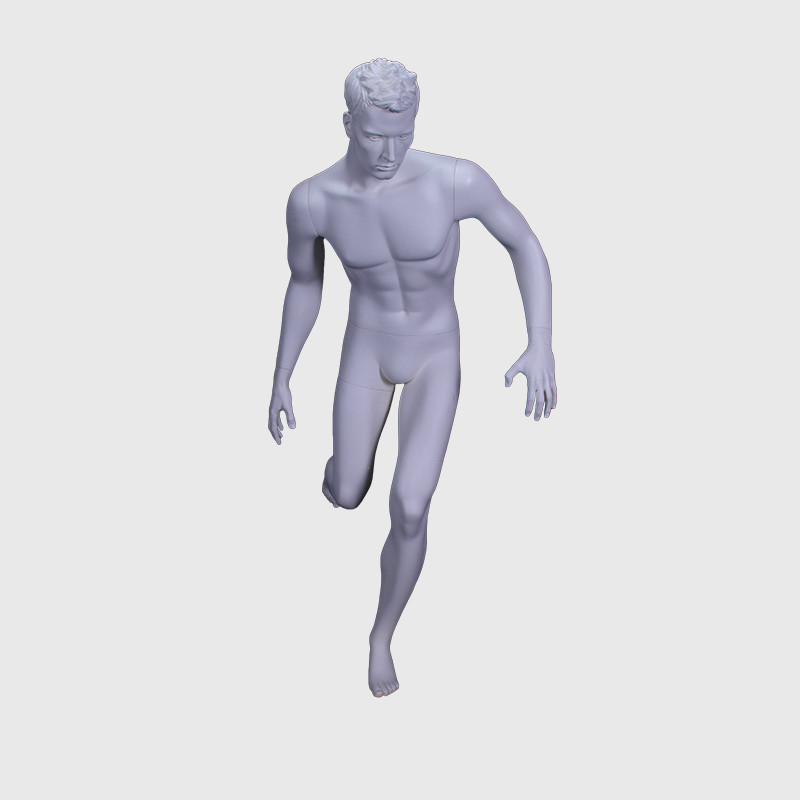 Running foot ball mannequin reastic mannequin men