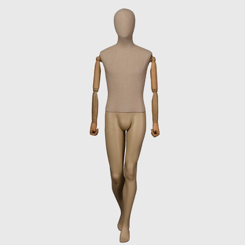 Fashion designer full body movable mannequin male