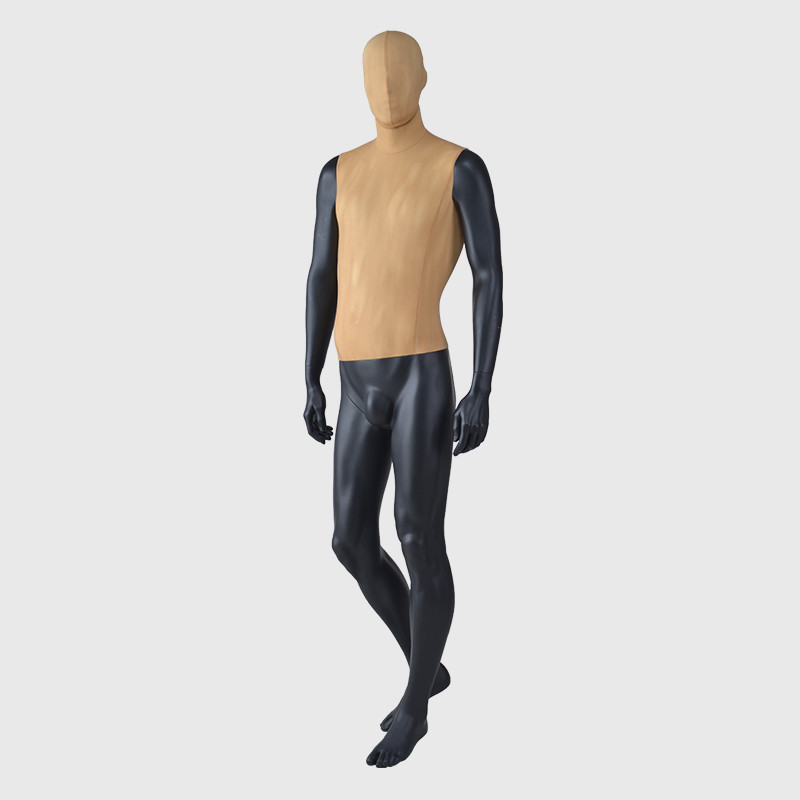 Vintage mannequin male mannequin full body fabric mannequin