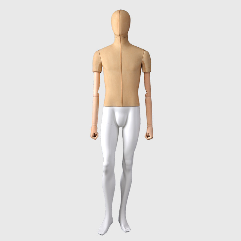 Fabric covered mannequins man full male mannequins for sale used