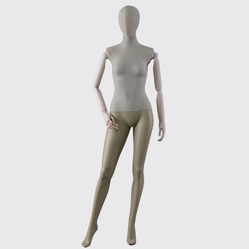 Sexy wholebody mannequin female vintage linen mannequin full body