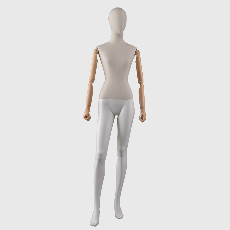 Standing slim female mannequin used mannequins for sale