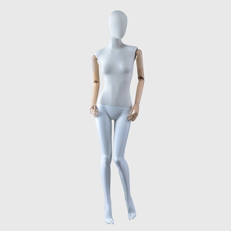 Female mannequin with big breast realistic body painting mannequin