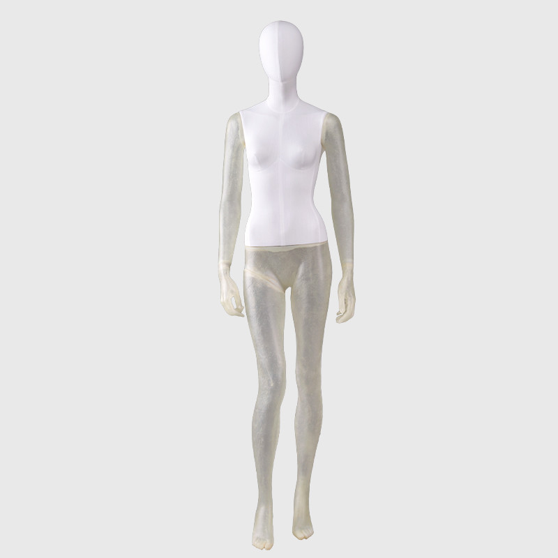 Abstract female full body mannequin used for sale