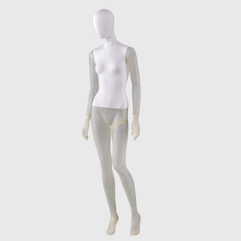 New design transparent mannequin female mannequins womens