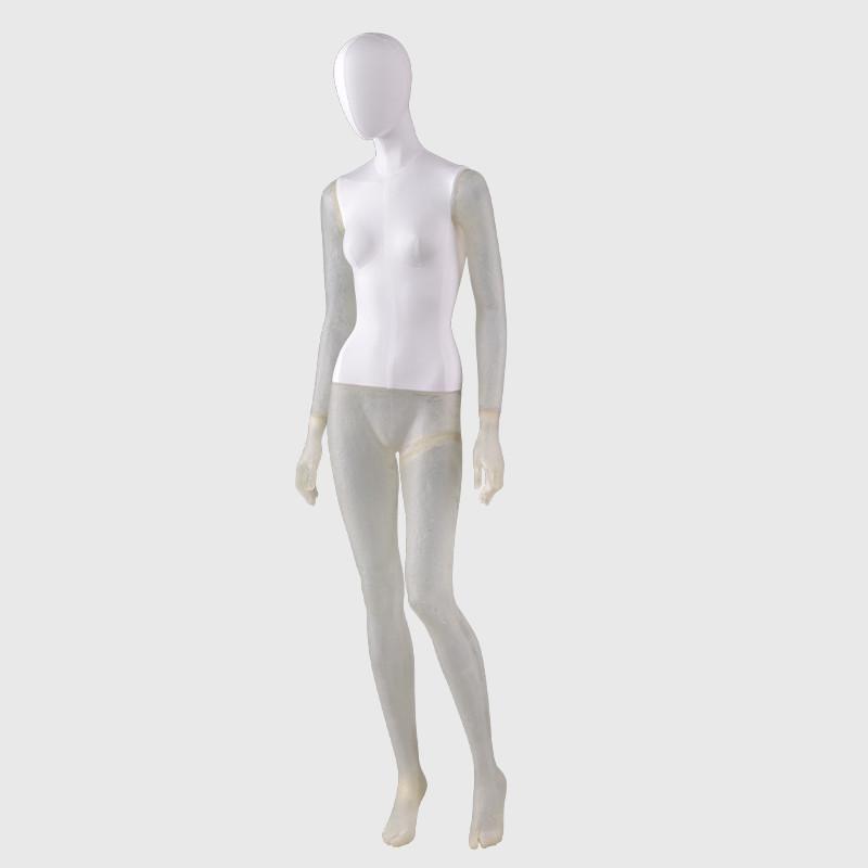 New design transparent mannequin female mannequins womens