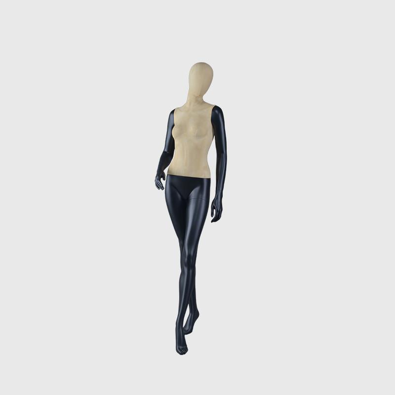 Factory custom ladies mannequin black female dummy