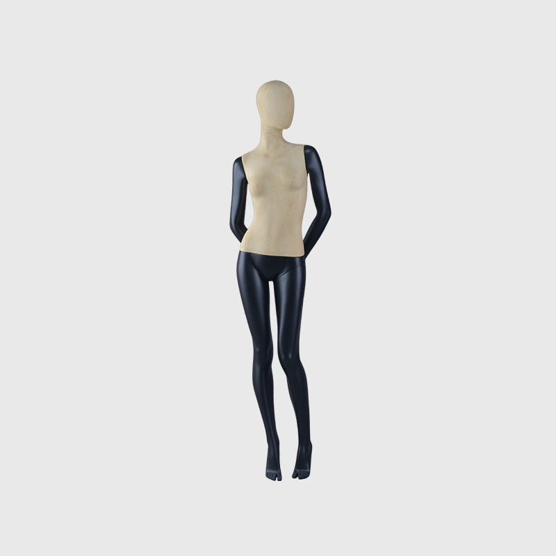 Custom black mannequin female full body used female mannequins