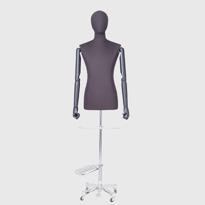 Black male mannequin dummy male manikin dress form