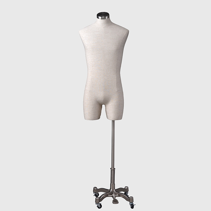 Dress form fabric male mannequin