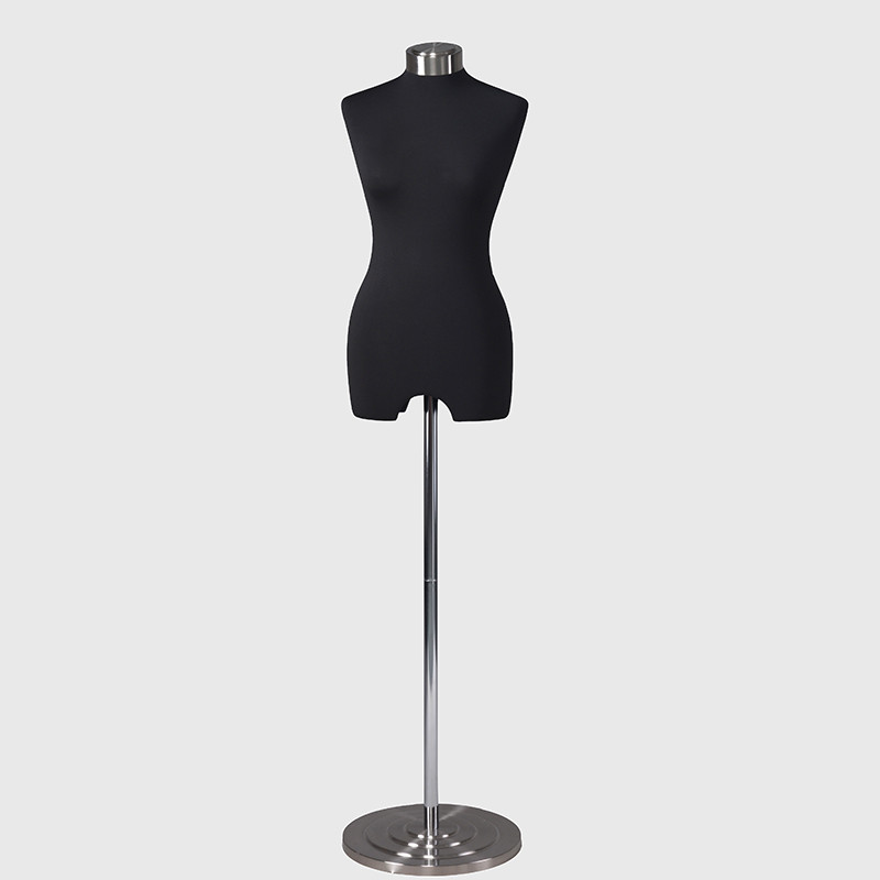 Balck fabric covered mannequins dress form mannequin female
