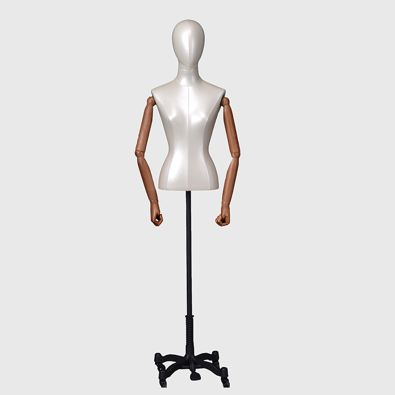 Female half body dummy decorative dress forms mannequin