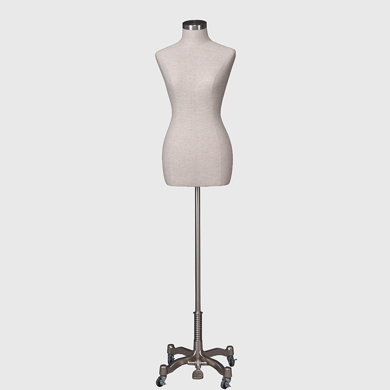 Fabric female mannequin dress form dummy torso mannequin