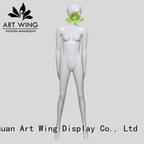 Art Wing sexy lifelike female mannequin customized for mall