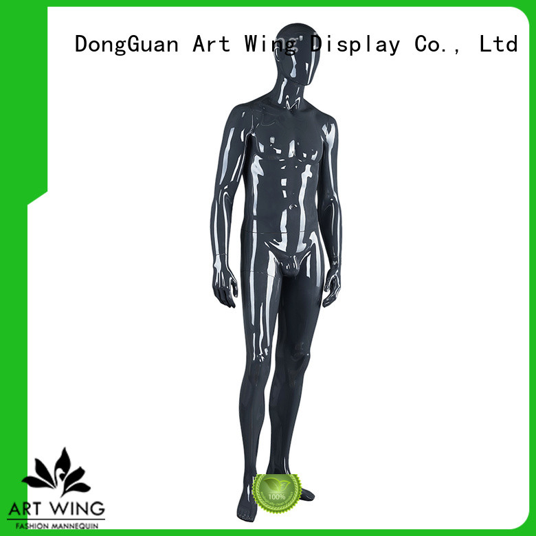reliable black glossy mannequin series for mall Art Wing